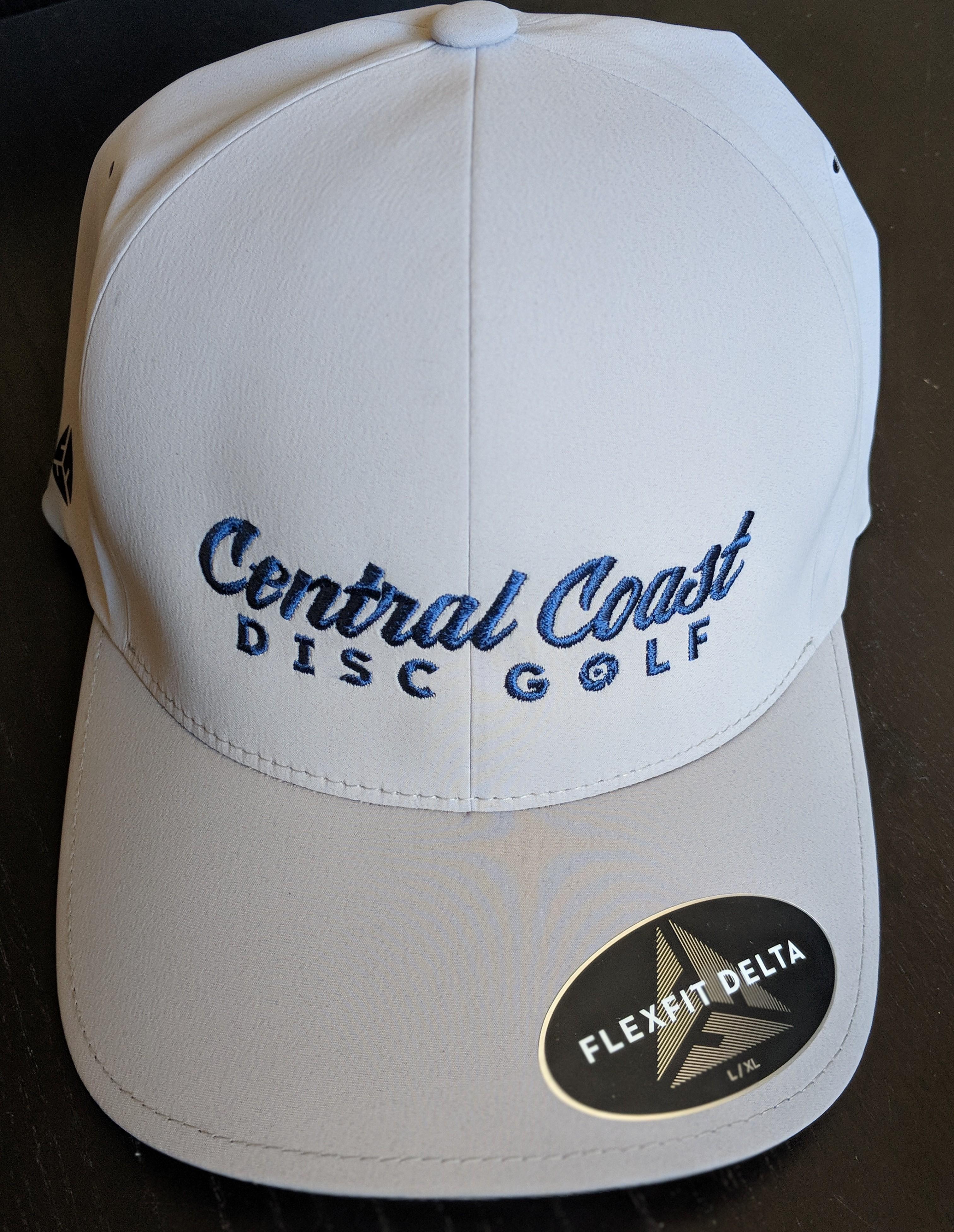 CCDG Flexfit Delta Hat - Black or Silver